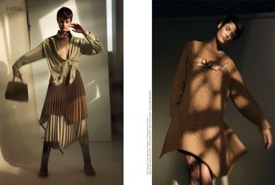 'Follow the Sun' featuring Model Pau for LATEST Magazine - Photos UWE KOERNER