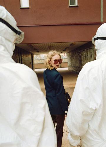 Fashion editorial inspired by Covid -19 - Styling JANA KAPOUNOVA