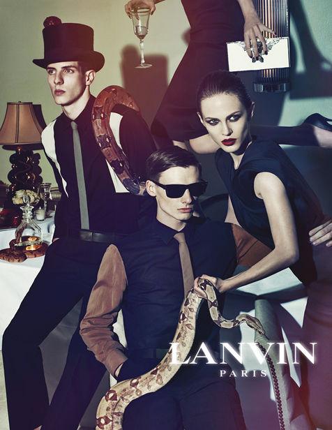 VIVA MODELS : ANGUS for LANVIN