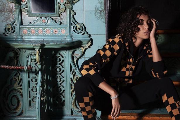 Chantal Monoghan for Louis Vuitton Editorial shot by Michele Bloch-Stuckens