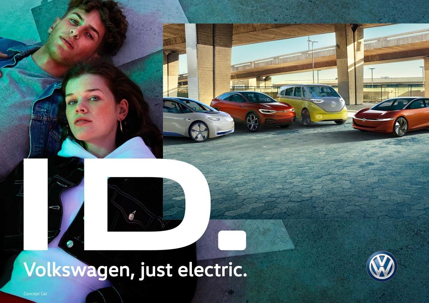 The new ID Volkswagen-Campaign all over Europe in the new Photostyle, realized by UWE DUETTMANN
