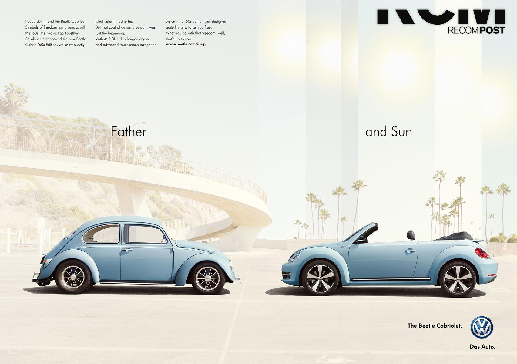 RECOM : VW Beetle Cabrio Kampagne