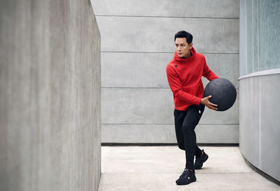 GLAM PRODUCTION coproduced with UPFRONT Hamburg latest Descente SS20 campaign with Daniel Wu and models in San Francisco