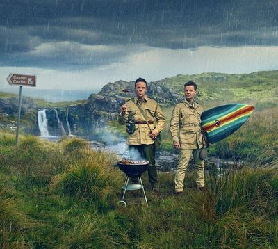 TODD ANTONY : new work of @antanddec fresh out for @itv and the New Season of I'm a Celebrity Get Me Out of Here! Shot in sunny Wales in lieu of Australia this year