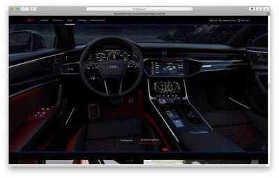 RECOM CGI : AUDI RS6 Avant - Microcampaign