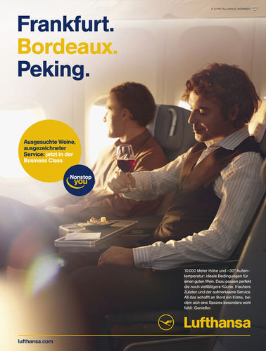KLEIN PHOTOGRAPHEN : Philipp Rathmer for LUFTHANSA