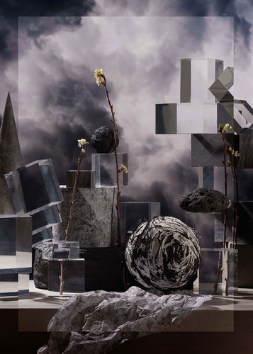 Wasteland dream by Mathilde Karrèr in collaboration with set design Studio Rifa