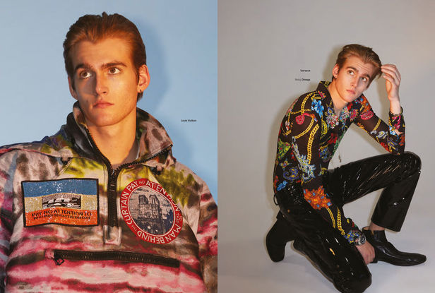 BEN LAMBERTY c/o KLAUS STIEGEMEYER for GQ Style Mexico with Presley Gerber