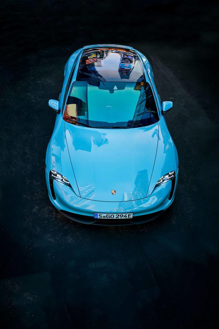 PETER SCHREIBER for Porsche Taycan and ramp magazine