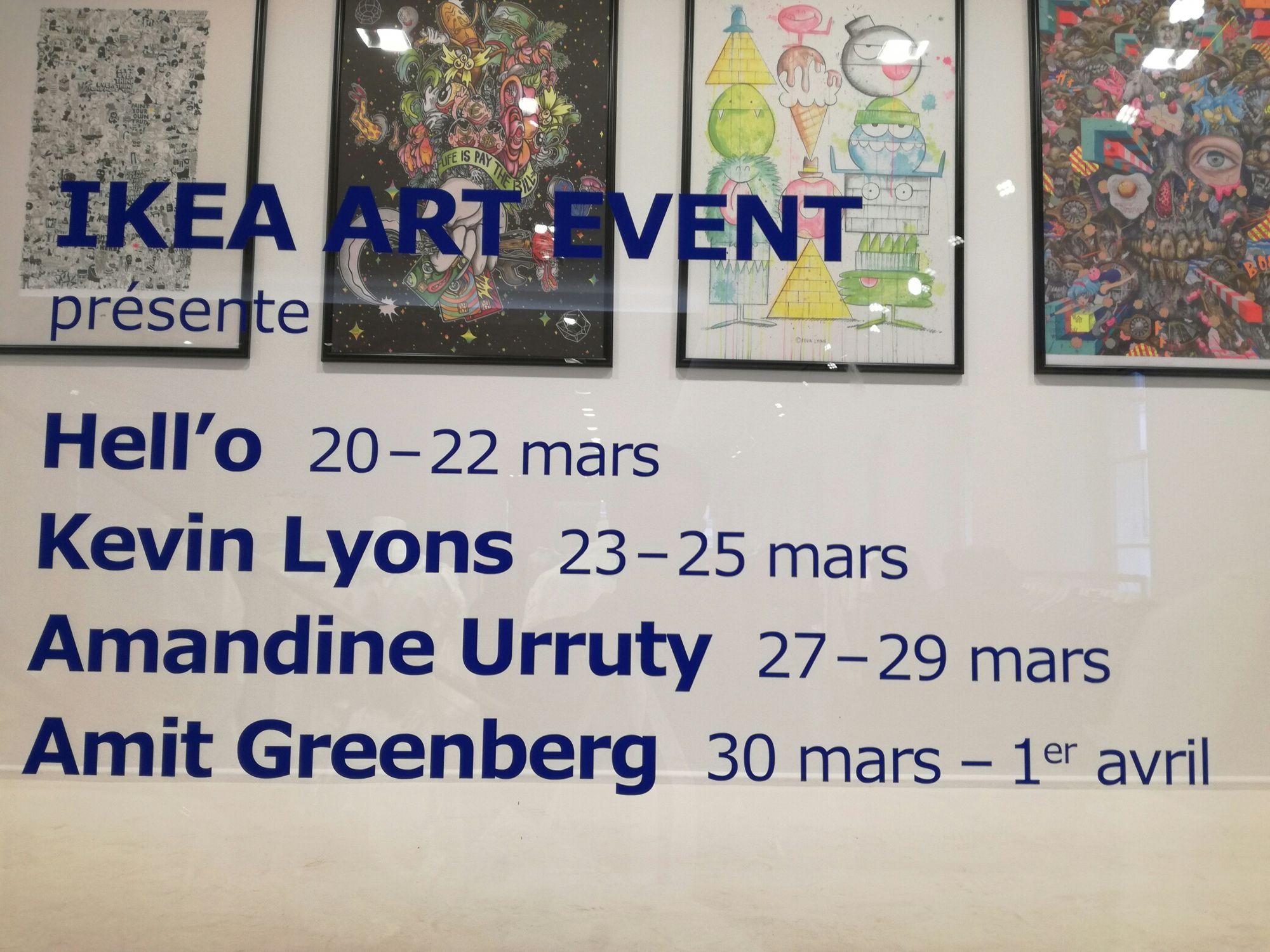 IKEA & COLETTE ART EVENT 2017 -  Hej, Hell'o