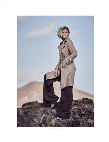 Lookbook featuring Gabriela Iliescu for Milestone