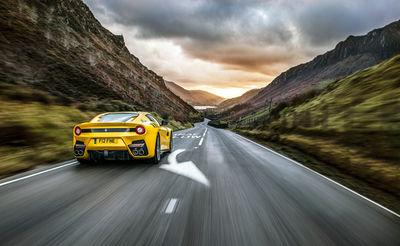 Ferrari F12 shot by Lee Brimble c/o JSR AGENCY