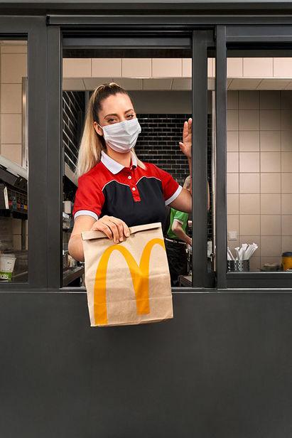 BIGOUDI Melanie Hunger für Mc Donald´s