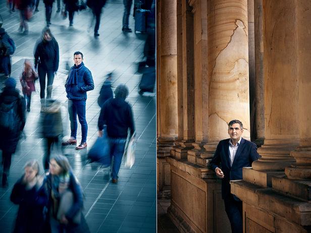 "HAUSER FOTOGRAFEN: BENNO KRAEHAHN for NATIONAL GEOGRAPHIC ""Genial Gedacht"" - Hannes Ley / Farhad Dilmaghani"