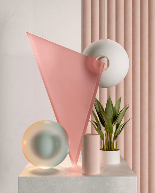 ABSTRACT COMPOSITIONS by Néstor Ramos, 3D designer and Illustrator from Barcelona
