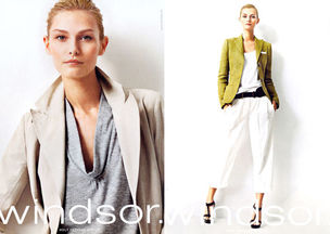 MUNICH MODELS : TATYANA Usova for WINDSOR