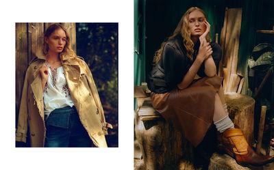 NINA KLEIN, Hair & Make up Kerstin Brandman (Huesges) for Elle Ukraine by Alex Schier