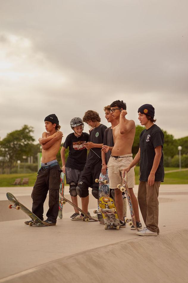 Ruben Riermeier, Skater Kids, personal work
