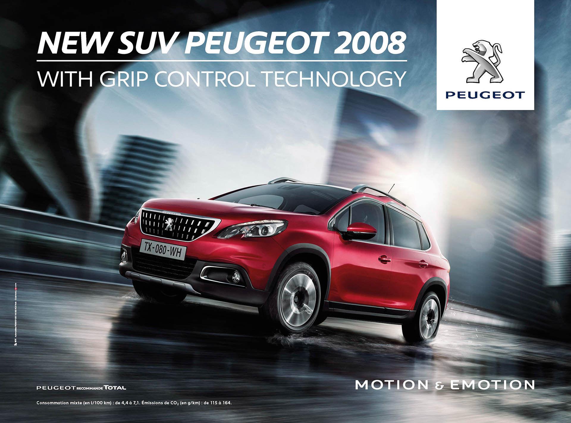 CREAM / AD CAMPAIGN : NEW SUV PEUGEOT 2008