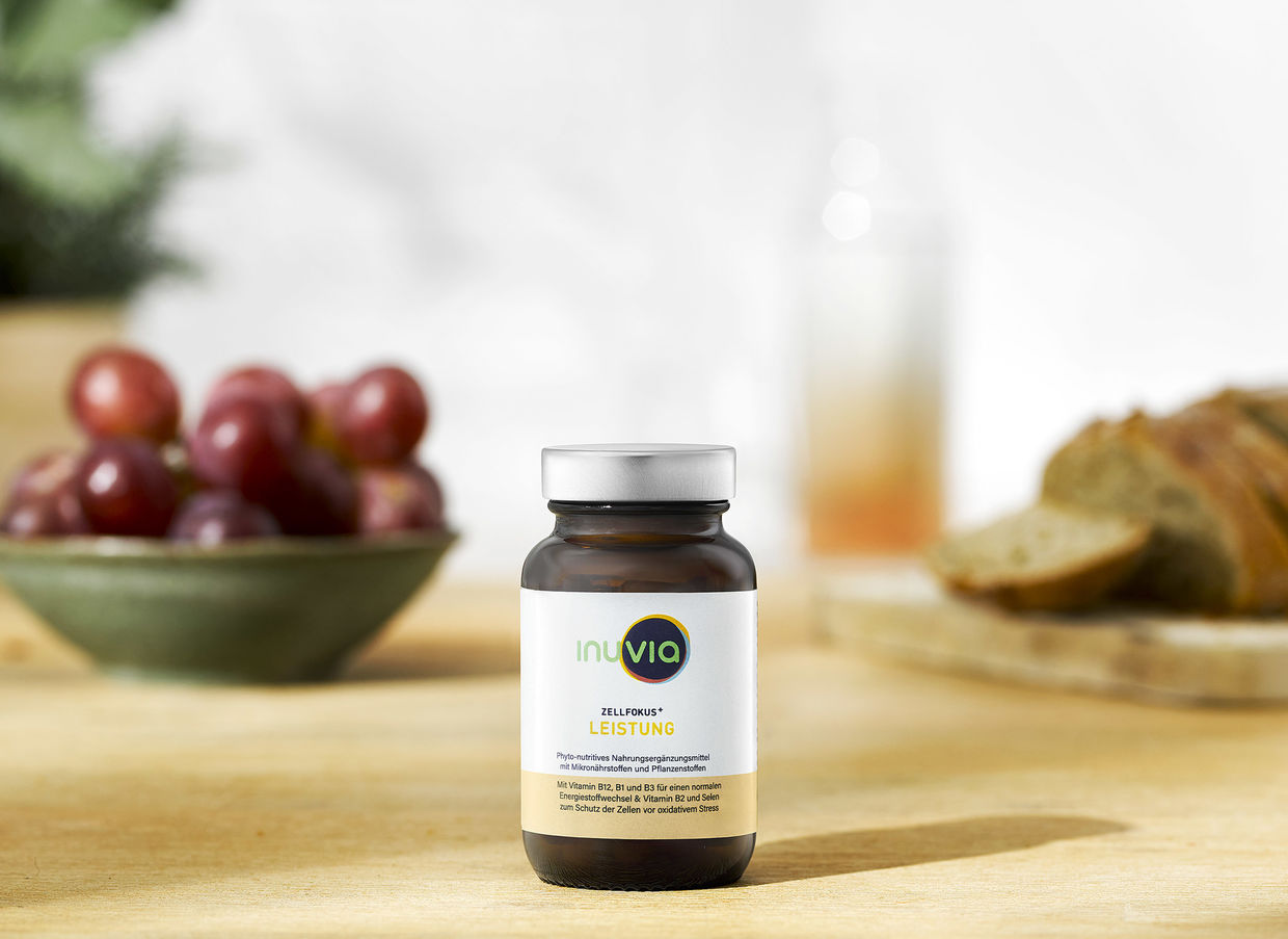 OFFENBLENDE: Lifestyle Moods für Inuvia Health Products