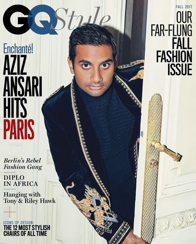 PRODUCTION BERLIN - Aziz Ansari for GQ Style - Paris Fashion Week