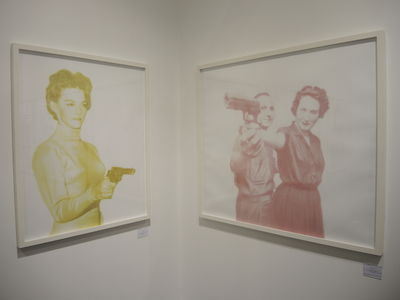 PARIS PHOTO 2015 : Brigitte Zieder (Galerie Odile Ouizeman)
