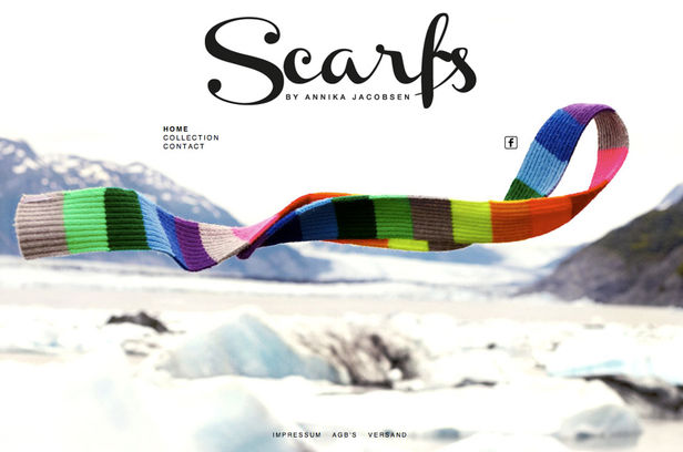 SCARFS BY ANNIKA JACOBSEN
