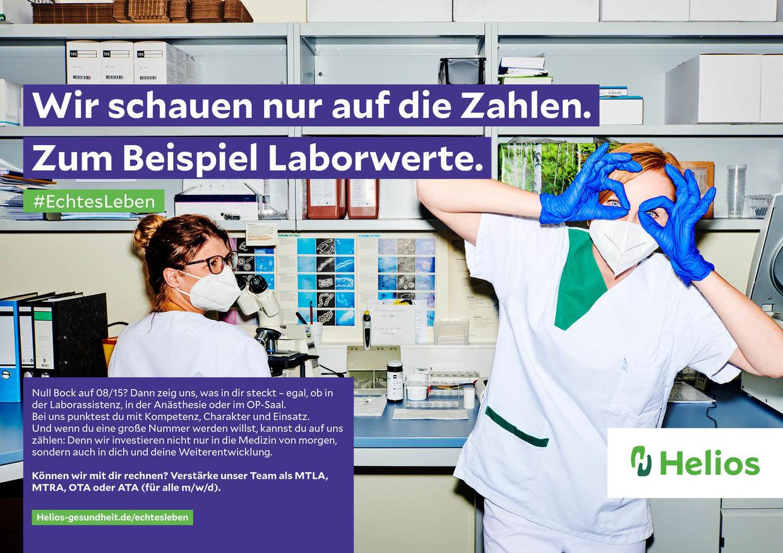 #EchtesLeben neue Arbeitgeber-Kampagne für HELIOS