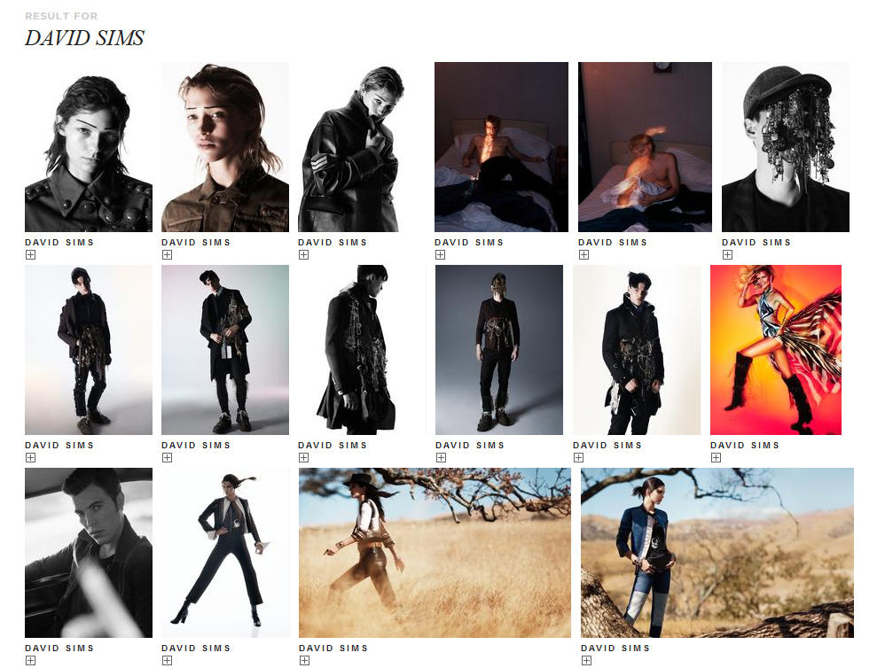 TRUNK ARCHIVE : David SIMS