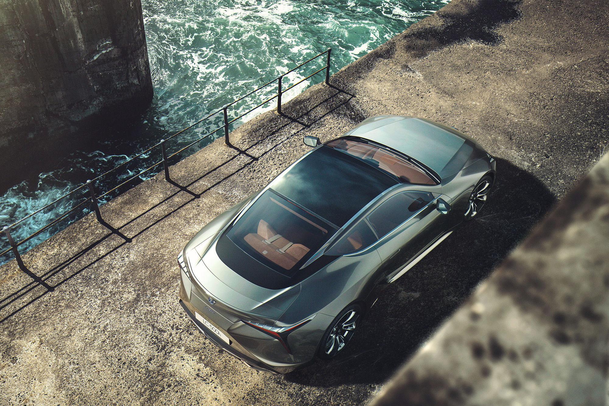 JONATHAN SCHULE : Lexus LC 500 for JvM Craft