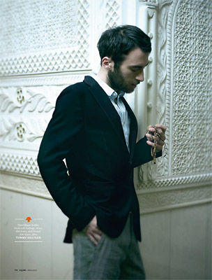 BIGOUDI : YILMAZ Aktepe for GQ