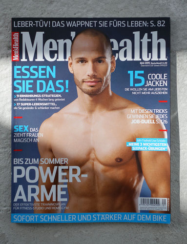 Men´s Health Cover 05/2015