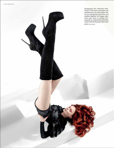 RAMONA REUTER for VOGUE / G & I SHOES