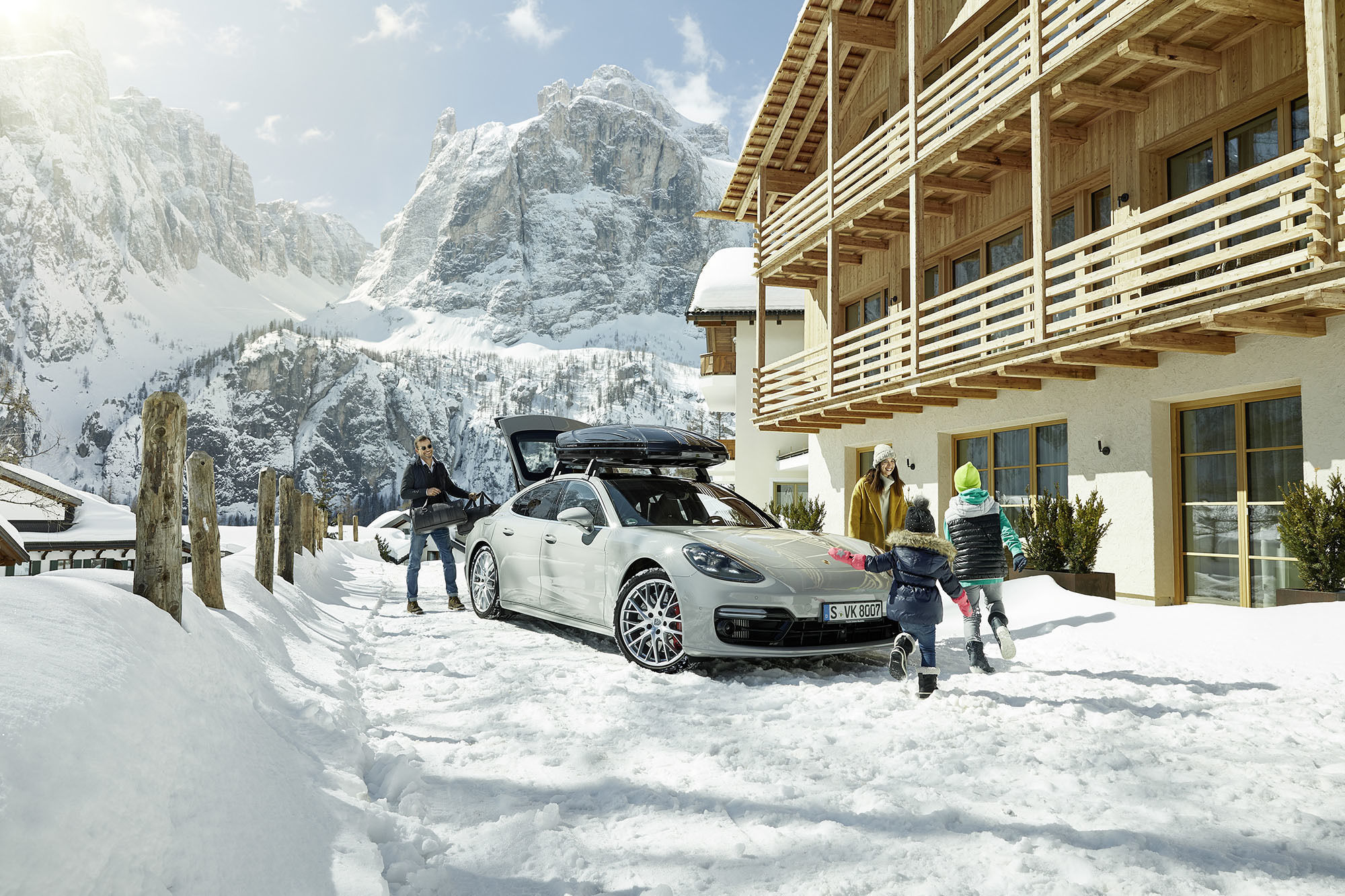 Porsche Winter Tequipment by Stephan Romer