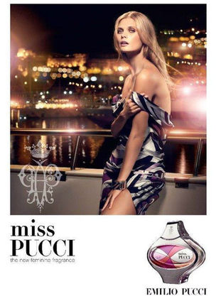MUNICH MODELS : MALGOSIA Bella for MISS PUCCI FRAGRANCE