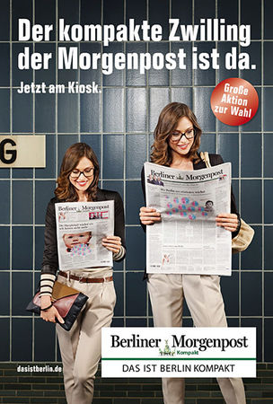 KOMBINATROTWEISS : Maak ROBERTS for BERLINER MORGENPOST