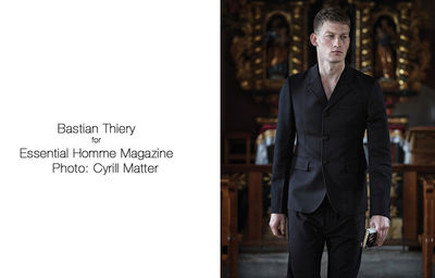 BIGOUDI: Juergen Schabes for Essential Homme Mag, Prada Special