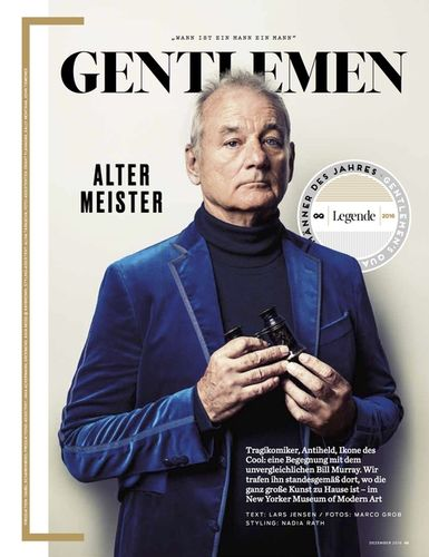 Produktion mit Bill Murray für GQ