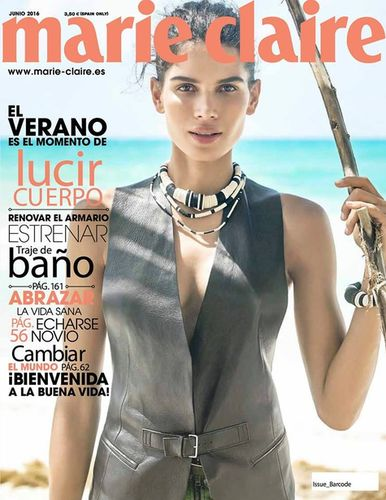 MUNICH MODELS: Raica OLIVEIRA for MARIE CLAIRE Spain