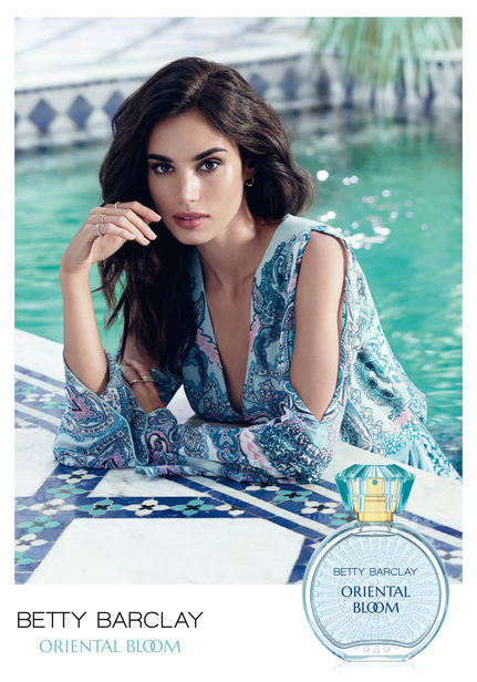 BETTY BARCLAY Oriental Bloom Fragrance Campaign by ROGER WEBER