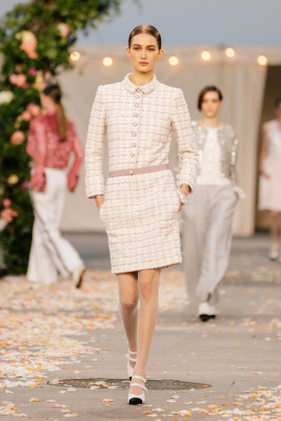 Vika Evseeva for Chanel Spring/Summer 2021 Haute Couture   ICONIC