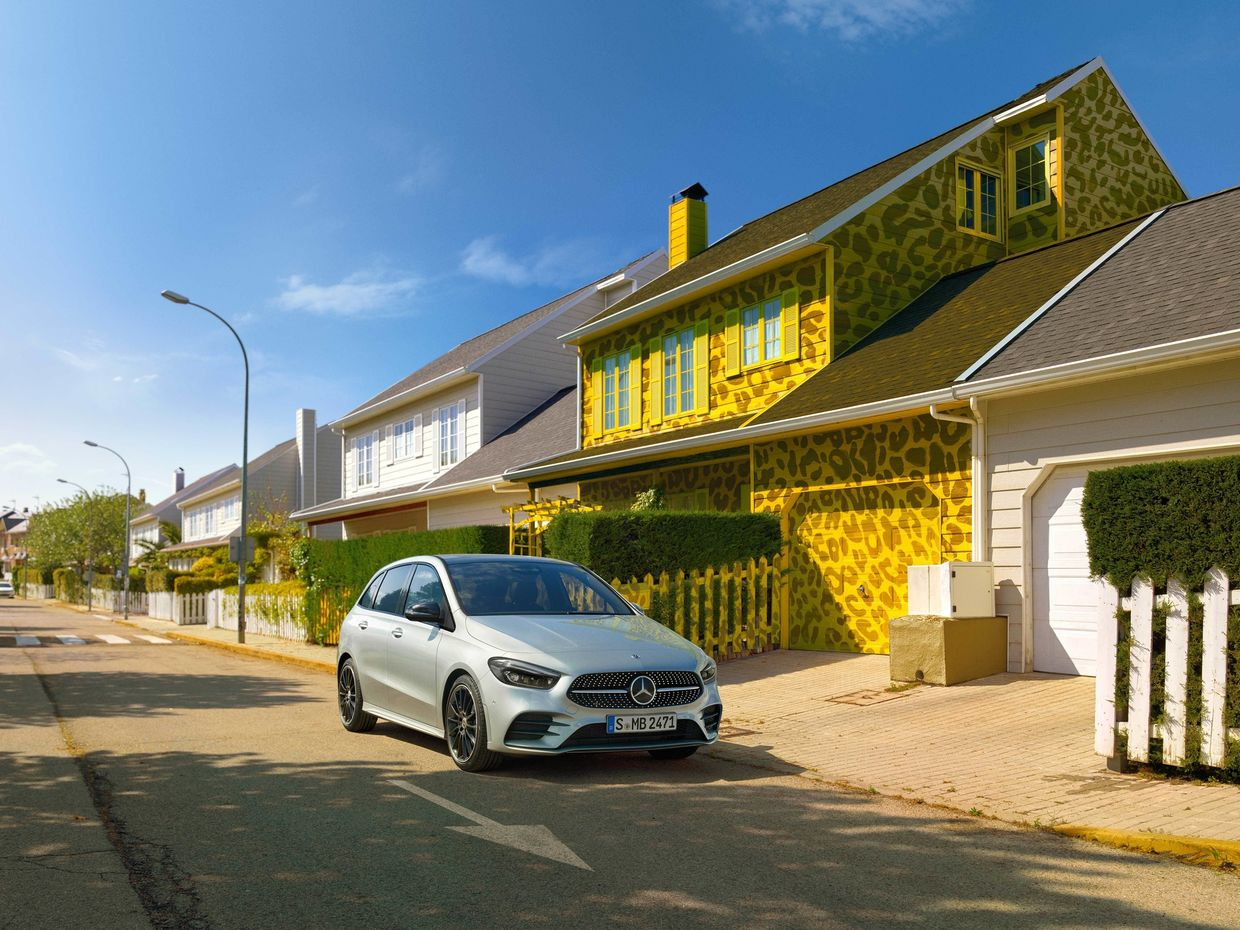 Mercedes-Benz B-Class by Dan Burn Forti c/o Making Pictures