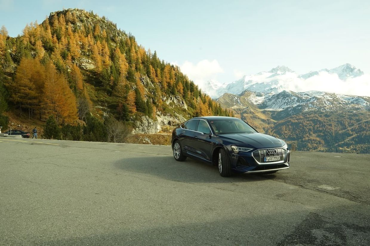 7 SEAS PRODUCTIONS for AUDI e-tron with Gerd George in Chamonix (FR), Italy, Switzerland