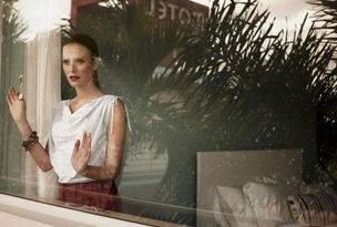 HILLE PHOTOGRAPHERS : Blasius ERLINGER for BURDA STYLE