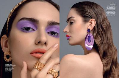 Camilla Camaglia Beauty Editorial Glamour Bulgary 06 2021