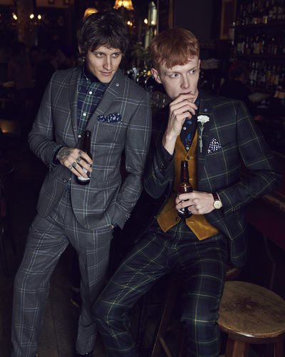 ANDREAS ORTNER - Club of Gents Campaign F/W 2018
