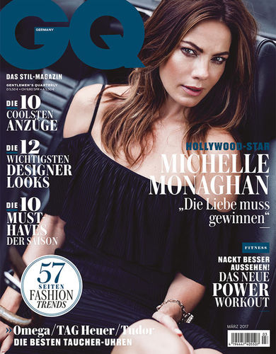 Michelle Monaghan for GQ Germany by ROBERT WUNSCH