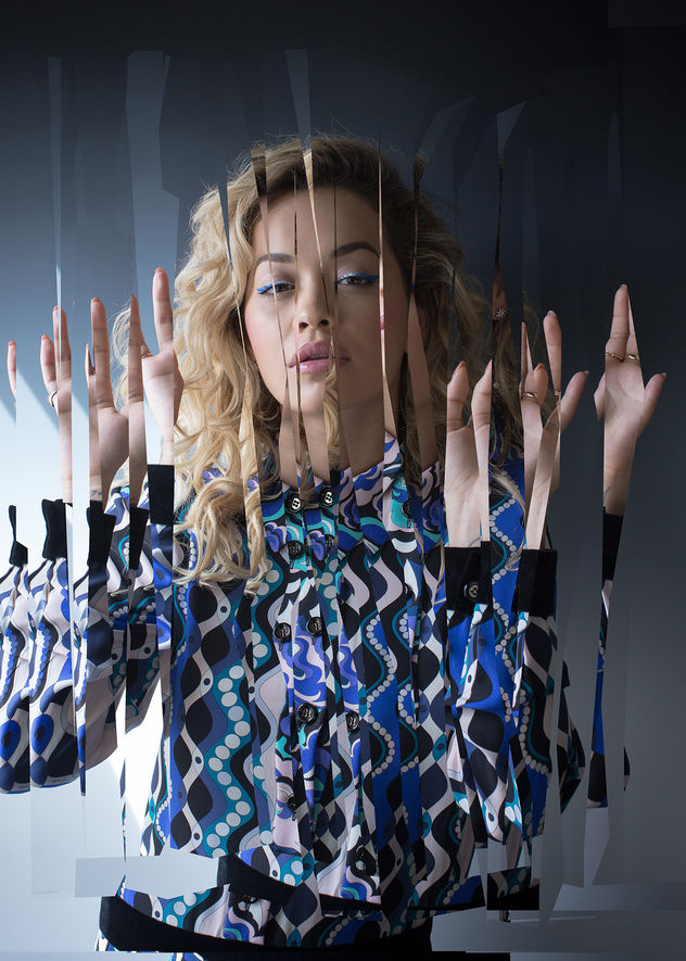 CHRISTA KLUBERT PHOTOGRAPHERS: OLIVER MARK WITH RITA ORA FOR ZEIT MAGAZINE