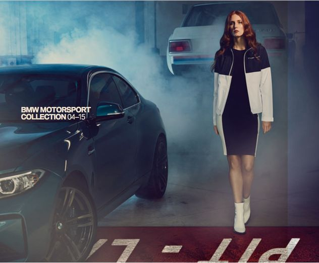 FIRST PRODUCTIONS for BMW Sportswear 2017 – 2019