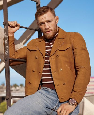 Conor McGregor GQ Style